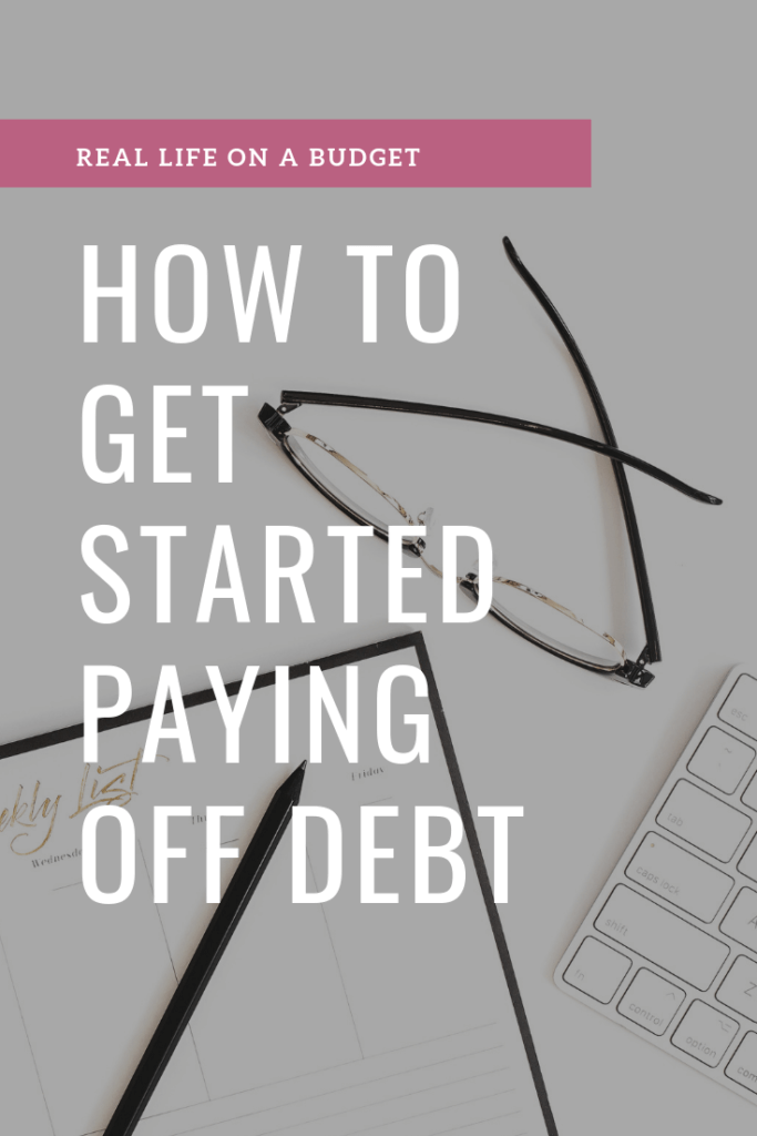 Want to start the debt-free journey but have no idea how to get there? This is how to get started paying off debt so you can realize your financial freedom goals.