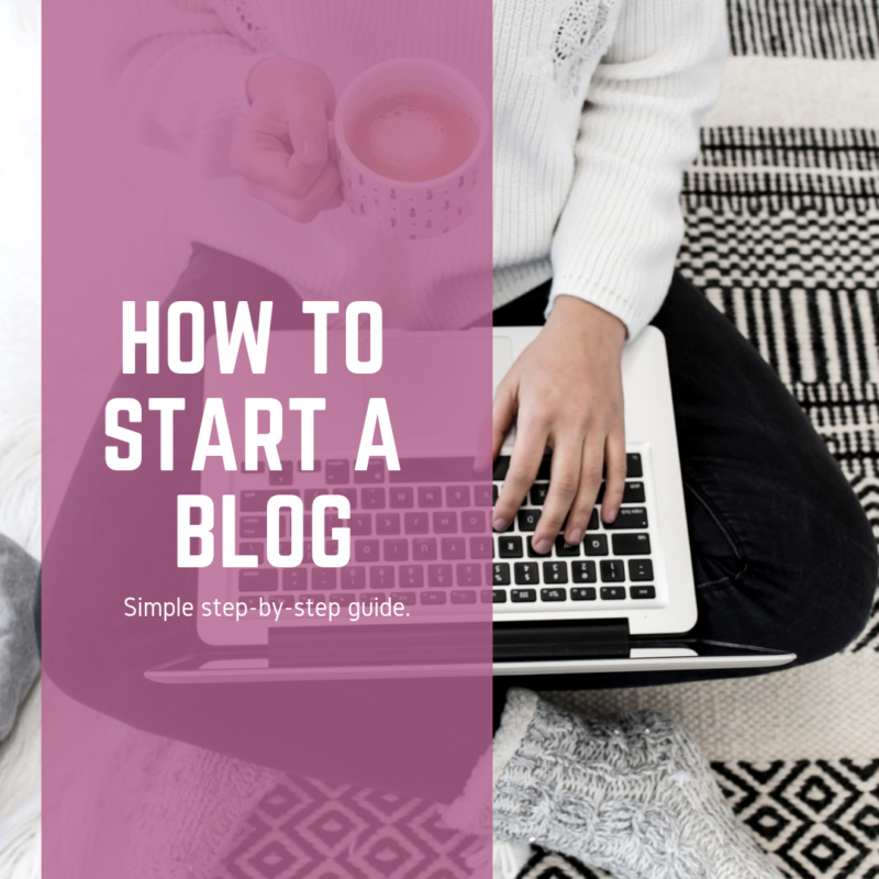 Ready to start your own blog? This simple step-by-step guide will help you figure out how to start a blog in a simple and easy-to-use format.
