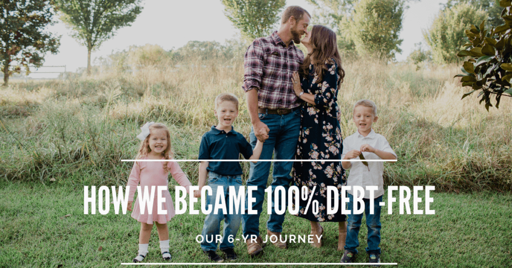 Our family paid off debt all of our debts in 6 years and are now 100% debt-free. If we could do it, so can you! This our family's debt-free journey.