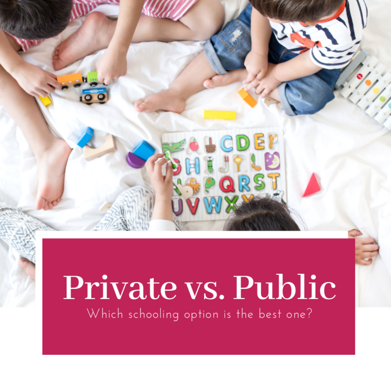 Is private school better than public school? Should you pay for private school? We've had our kids in both private and public schools - here's our comparison.