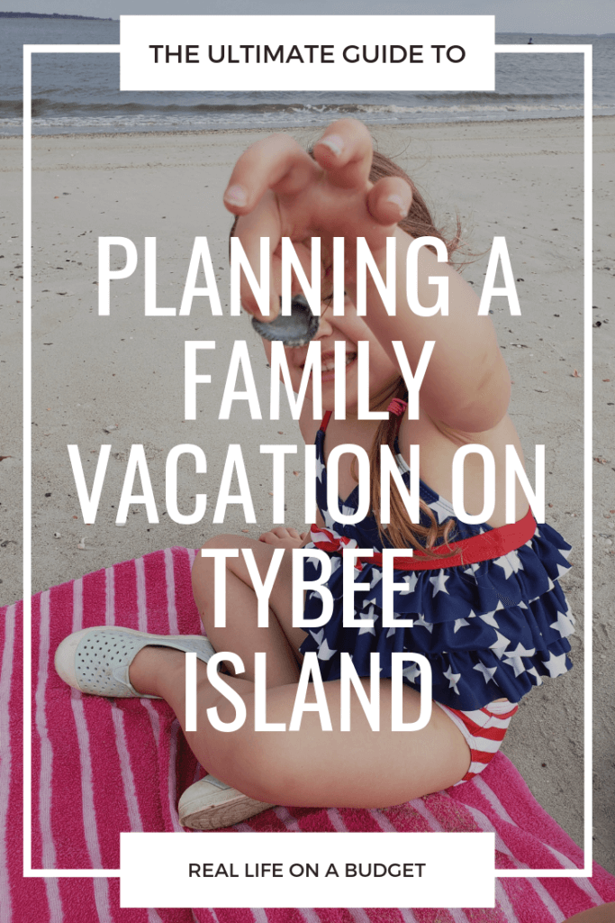 Planning a family vacation on Tybee Island? This is a mom of three's guide to everything amazing about this wonderful family-friendly island!