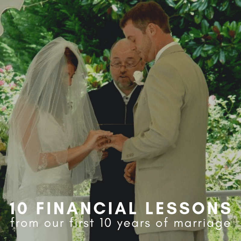 In 10 years of marriage, these are the financial lessons we've learned in our marriage. If you're looking for help for your finances and marriage, here are the lessons we've learned.