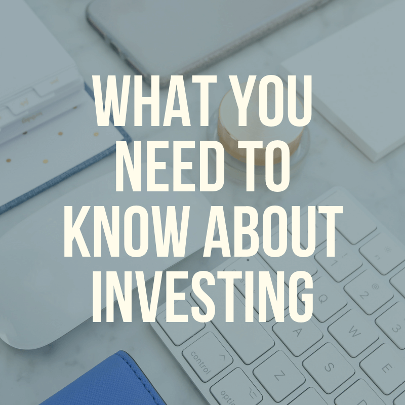 Don't know where to begin with investing? This is what you need to know about investing - especially if you're a beginner! It's never too late to start saving for retirement!