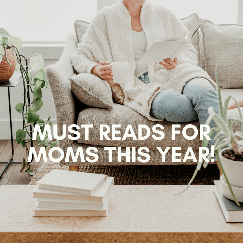 Look for reading list ideas for the New Year? These are some of the best books for moms that I've found so far!