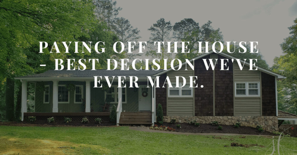 Wondering if you should pay off your house? Is paying off your mortgage worth it? Paying off our mortgage was one of our best decisions! Here's why.