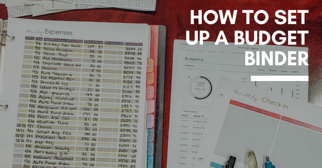 Need to get your finances organized? This is how to set up a budget binder for your household so you can keep on top of everything!