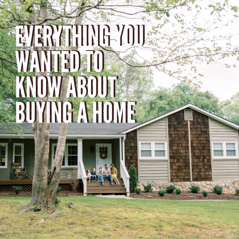 Are you wondering how to buy a house? Buying a home can be kind of confusing so this is everything you need to know to prepare to buy your first home!