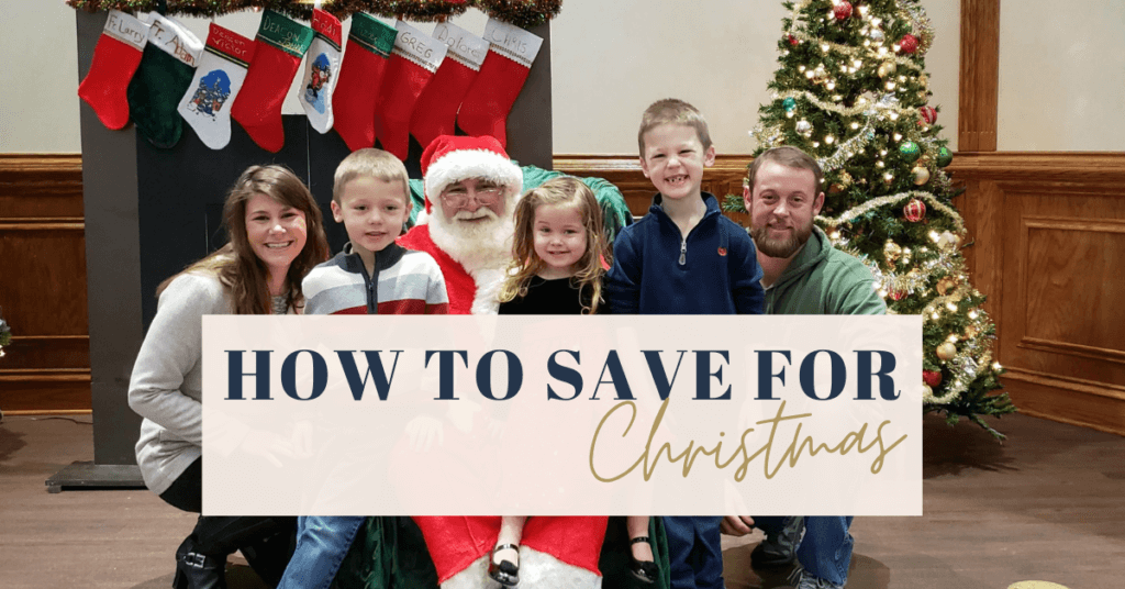 Wondering how to save money for Christmas? Here are a few quick ways to make saving for Christmas easier!