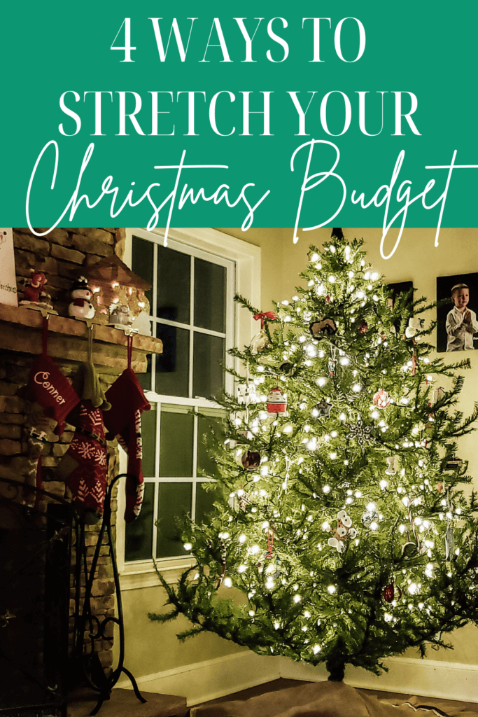 Working on a limited Christmas budget this year? These are a few ways that can help you stretch Christmas Budget this year!