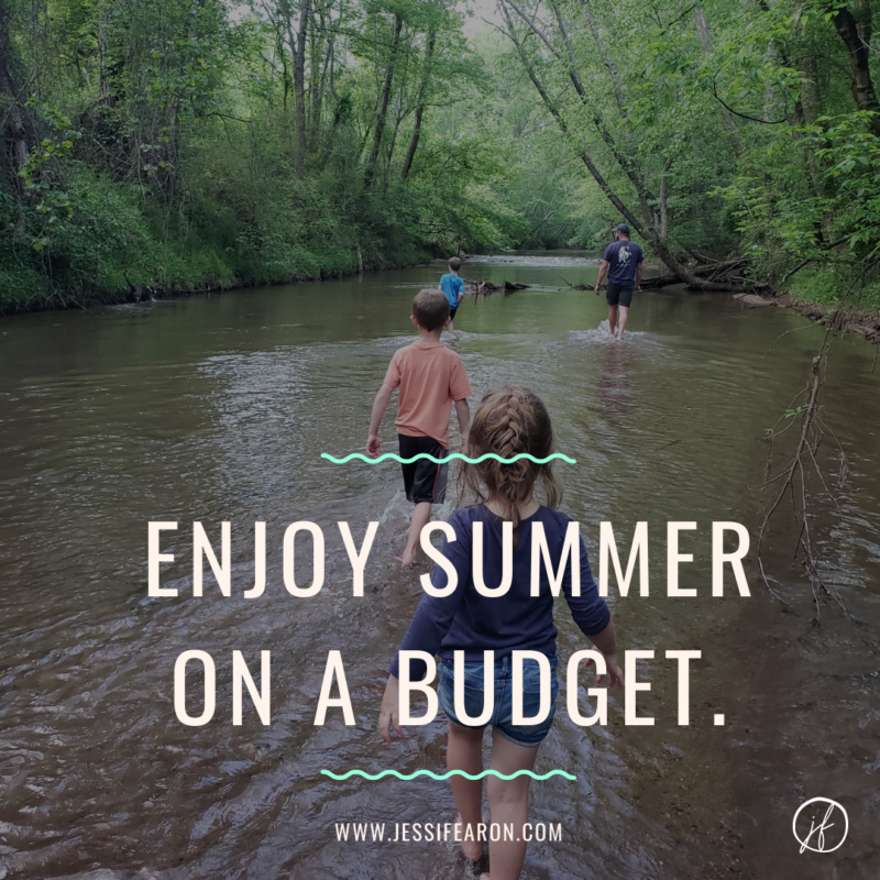 On a budget? Here's how to enjoy summer on a budget that won't break the bank!