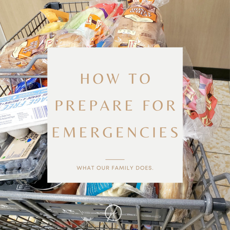 Let's prepare for an emergency on a budget. Get some ideas together on what to include in your emergency plans and kit and go from there!